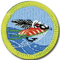 Fly-Fishing Badge Image