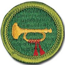 Bugling Badge Image