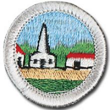 Citizenship in the Community Badge Image