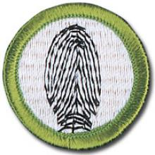 Fingerprinting Badge Image