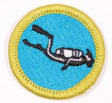 Scuba Diving Badge Image