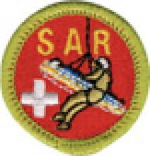 Search and Rescue Badge Image