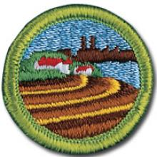 Soil and Water Conservation Badge Image