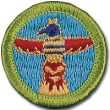 Wood Carving Badge Image